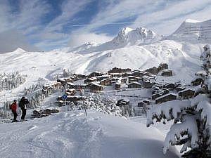 Esquiadas especiales en la Plagne